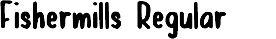 Preview image for Fishermills Regular Font