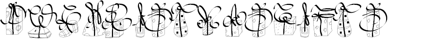 Preview image for PWChristmasGifts Font