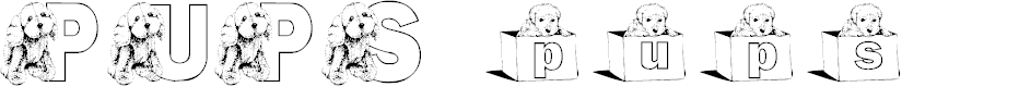 Preview image for KGPUPS Font