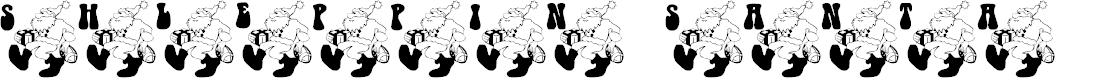 Preview image for Shleppin' Santa Font