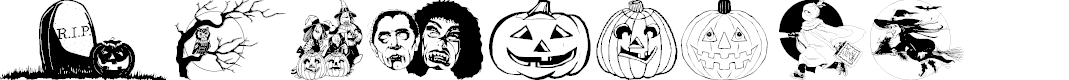 Preview image for Helloween version 2 Font