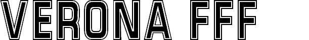 Preview image for Verona FFF Font