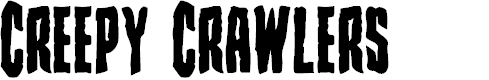 Preview image for Creepy Crawlers Bold