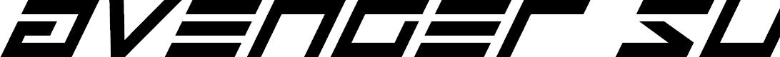Preview image for Avenger Super-Italic