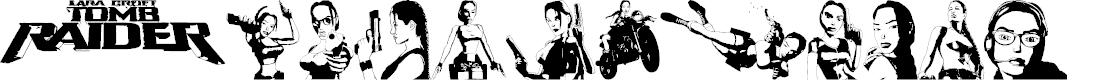 Preview image for Lara Croft Tomb Raider Font