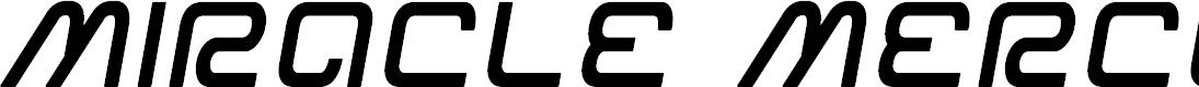 Preview image for Miracle Mercury Semi-Bold Semi-Italic