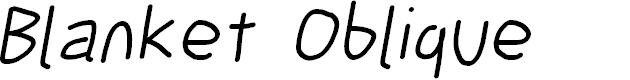 Preview image for Blanket Oblique