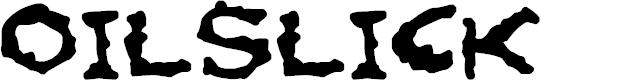 Preview image for Oilslick Font