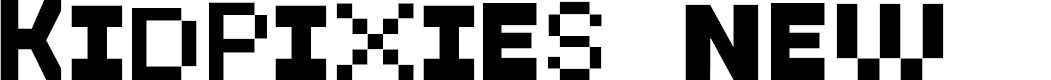 Preview image for KidPixies New Font