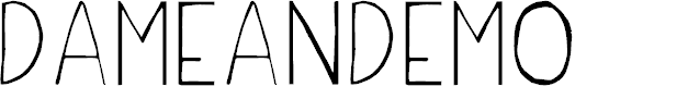 Preview image for DameanDemo Font