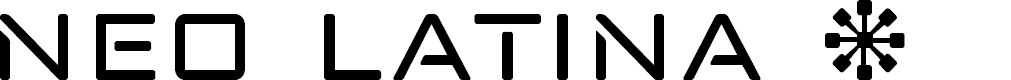 Preview image for neo-latina Font