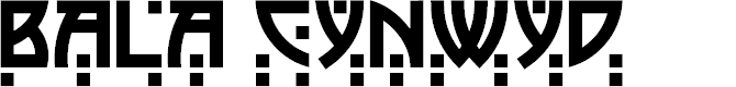 Preview image for BalaCynwyd Font