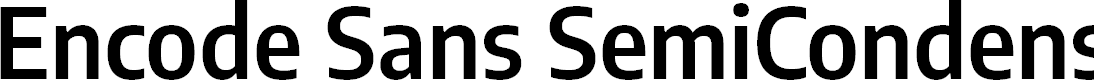 Preview image for Encode Sans SemiCondensed SemiBold