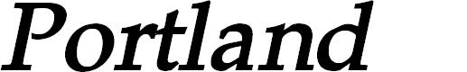 Preview image for Portland LDO Bold Italic