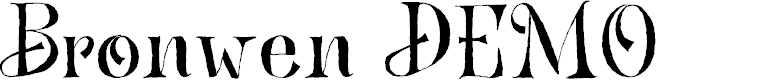 Preview image for Bronwen DEMO Regular Font
