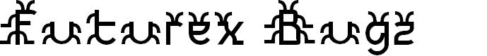 Preview image for Futurex Bugz Font