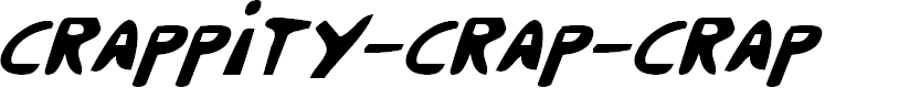 Preview image for Crappity-Crap-Crap CondItal