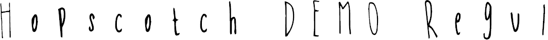 Preview image for Hopscotch DEMO Regular Font