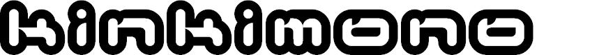 Preview image for Kinkimono Font