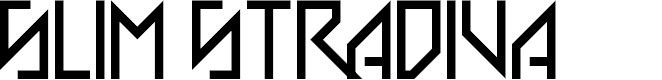 Preview image for Slim Stradiva Regular Font