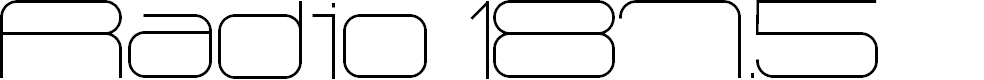 Preview image for Radio 187.5 Font