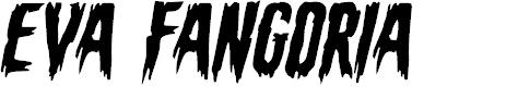 Preview image for Eva Fangoria Expanded Italic
