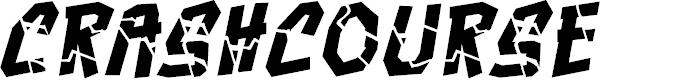 Preview image for CrashcourseBB-Italic