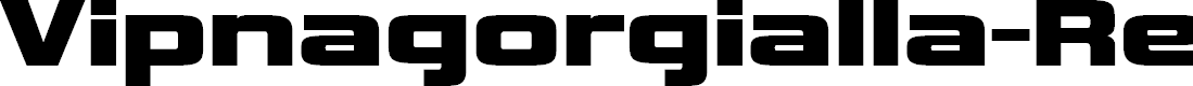 Preview image for Vipnagorgialla-Regular Font