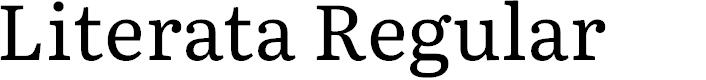 Preview image for Literata Regular