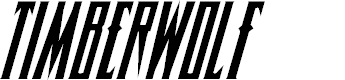 Preview image for Timberwolf Condensed Italic
