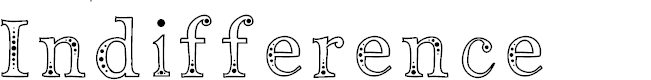 Preview image for Indifference Font