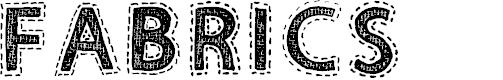 Preview image for Fabrics Regular Font