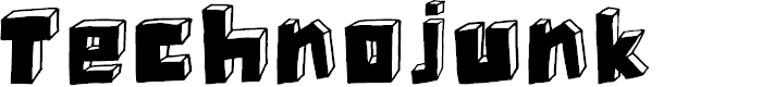 Preview image for DKTechnojunk Font