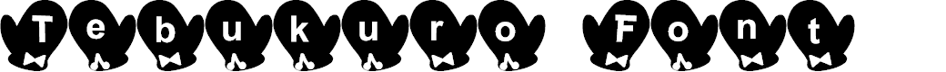 Preview image for Tebukuro Font