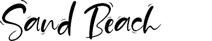 Preview image for Sand Beach Font