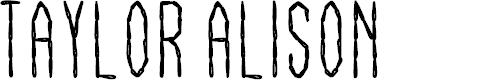 Preview image for Taylor Alison Font