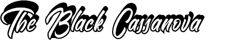 Preview image for The Black Cassanova Font