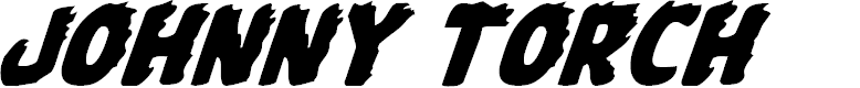 Preview image for Johnny Torch Italic Font