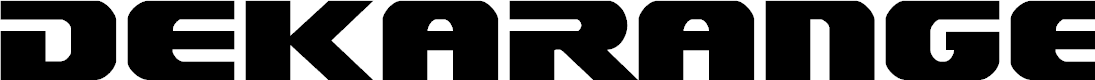 Dekaranger by Iconian Fonts