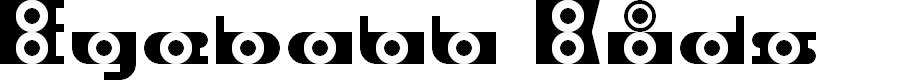 Preview image for Eyeball Kids Regular Font