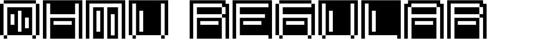Preview image for OHMU Regular Font