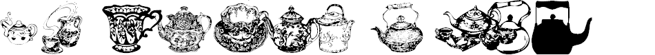 Preview image for Tea Time I Font