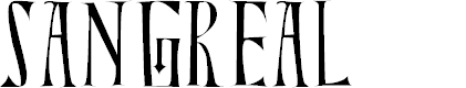 Preview image for Sangreal Font