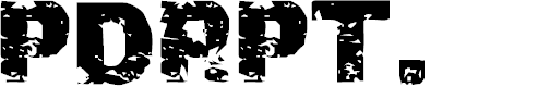 Preview image for PDRPT Font