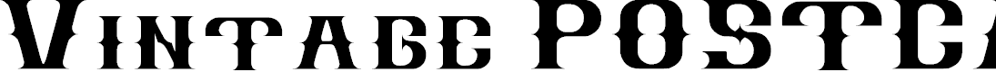 Preview image for Vintage POSTCARD Font