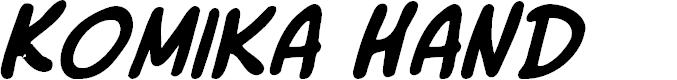 Preview image for Komika Slick Italic