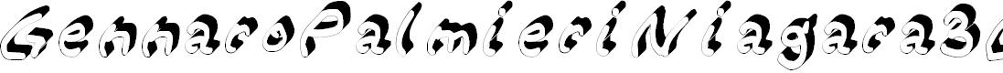 Preview image for Gennaro_Palmieri_Niagara_3D Medium Font