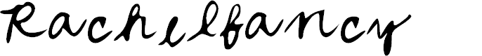 Preview image for Rachel_fancy Font