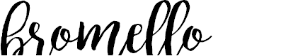 Preview image for bromello Font