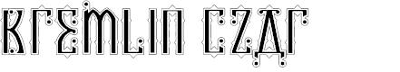Preview image for Kremlin Czar Font